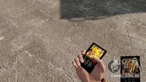 Tema Naruto para o seu telefone para GTA 4
