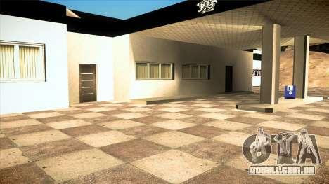A garagem em Doherty BPAN v 1.1 para GTA San Andreas sexta tela