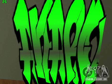Graffity mod para GTA San Andreas sétima tela
