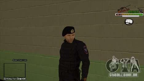 Polícia de San Angeles Pak peles para GTA San Andreas