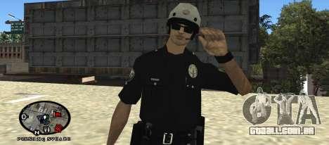 Los Angeles Air Support Division Pilot para GTA San Andreas segunda tela