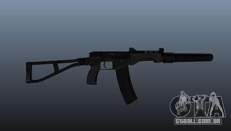 SR-3 Vikhr metralhadora v3 para GTA 4 terceira tela