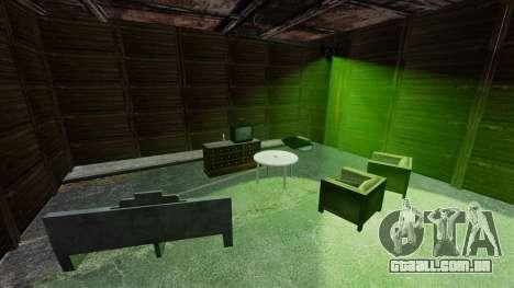 Casa pessoal para GTA 4 por diante tela