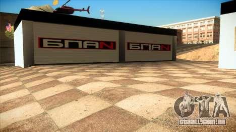 A garagem em Doherty BPAN v 1.1 para GTA San Andreas por diante tela