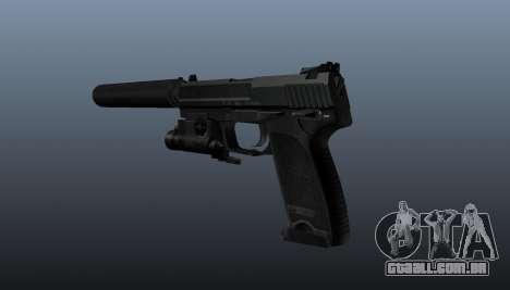 Pistola HK USP 45 para GTA 4 segundo screenshot