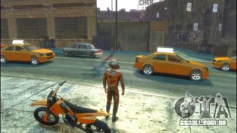 Piloto para GTA 4 por diante tela