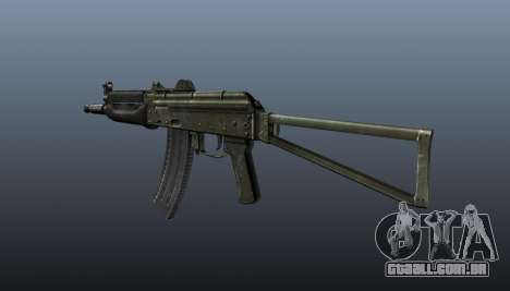 Automático AKS74U v1 para GTA 4 segundo screenshot