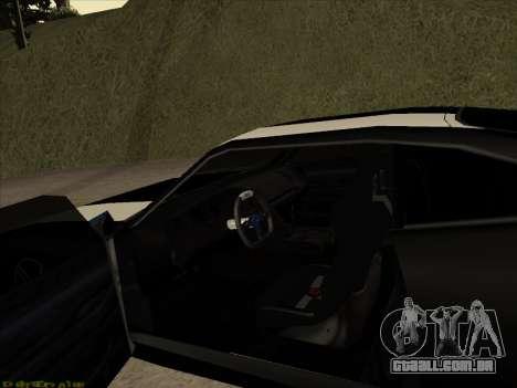 New Jester para GTA San Andreas vista traseira