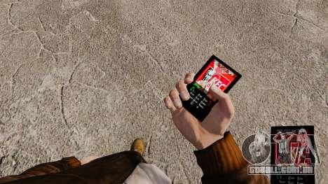 Temas para as marcas de fast food de telefone para GTA 4 segundo screenshot