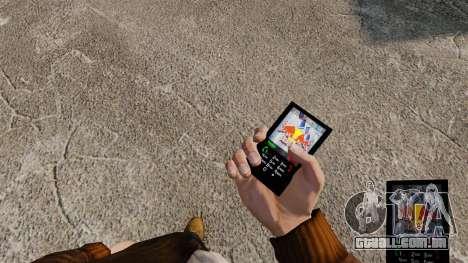 Temas para celular marcas de bebidas para GTA 4 por diante tela