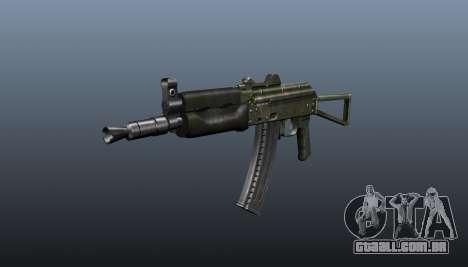 Automático AKS74U v1 para GTA 4