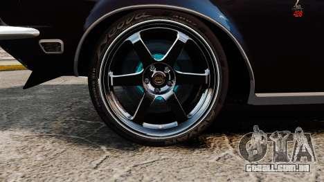 Shelby GT500 para GTA 4 vista de volta