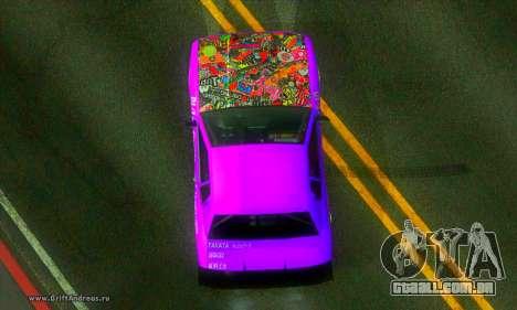 Elegy DC v2 para GTA San Andreas vista direita