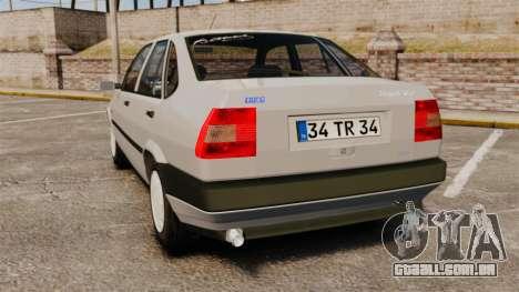 Fiat Tempra SX.A para GTA 4 traseira esquerda vista