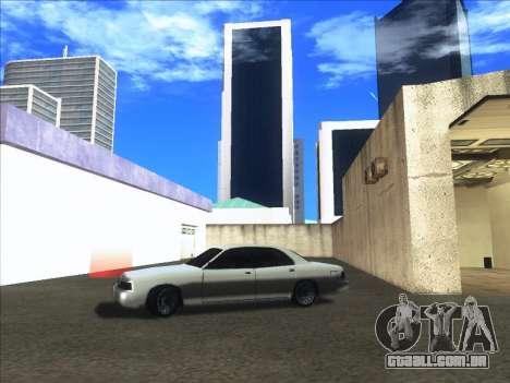 New Merit para GTA San Andreas traseira esquerda vista