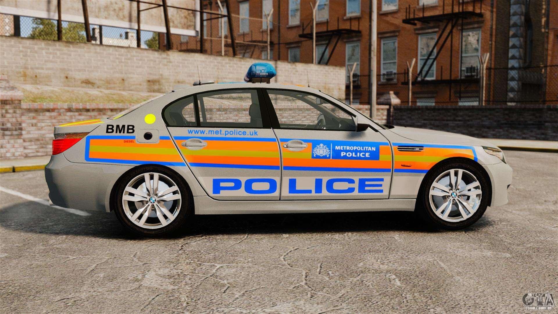 bmw m5 e60 metropolitan police 2006 arv els para gta 4. Black Bedroom Furniture Sets. Home Design Ideas