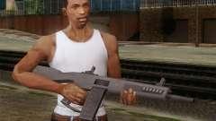 A shotgun AA-12