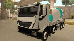 Oi-terra betoneira caminhão Iveco
