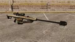 O Barrett M82 sniper rifle v14