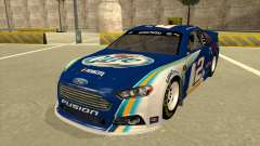 Ford Fusion NASCAR No. 2 Miller Lite para GTA San Andreas