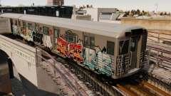 Novo graffiti em v1 o metro para GTA 4