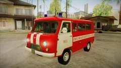 Sede UAZ 452 bombeiro SA