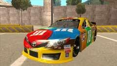 Toyota Camry NASCAR No. 18 MandMs para GTA San Andreas