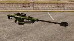 O Barrett M82 sniper rifle v4 para GTA 4