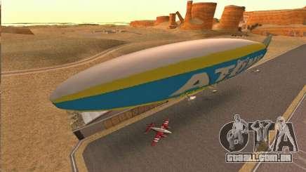 Zepellin GTA V para GTA San Andreas