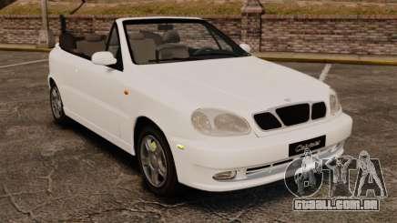 Daewoo Lanos 1997 Cabriolet Concept para GTA 4