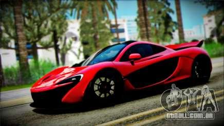 McLaren P1 2014 para GTA San Andreas