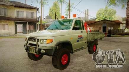 Água de reparação UAZ 2360 SA para GTA San Andreas