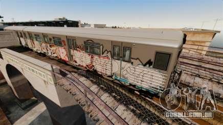 Novas pichações no metrô v2 para GTA 4
