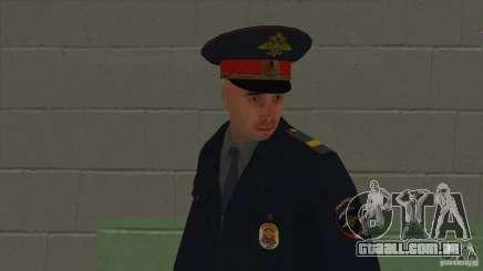 Sargento da polícia para GTA San Andreas