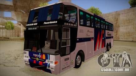 Busscar Jum Buss 400 P Volvo para GTA San Andreas