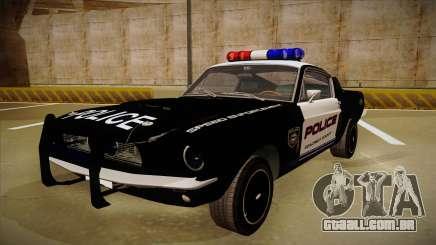 Shelby Mustang GT500 Eleanor Police para GTA San Andreas