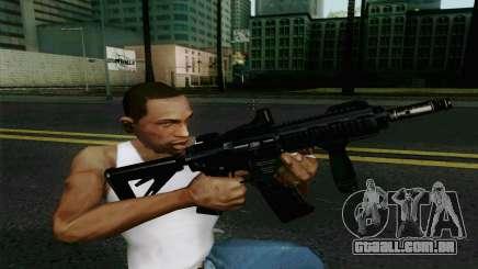 MK107 PDW para GTA San Andreas
