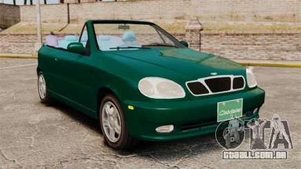 Daewoo Lanos 1997 Cabriolet Concept v2 para GTA 4