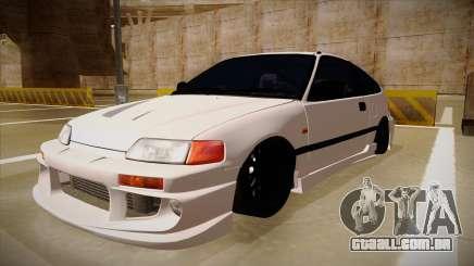 Honda CRX JDM Style para GTA San Andreas
