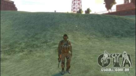 Um soldado russo v 2.0 para GTA 4