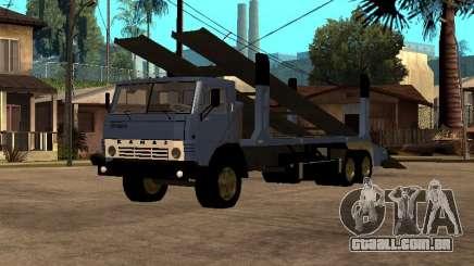 Caminhão KAMAZ 43085 para GTA San Andreas