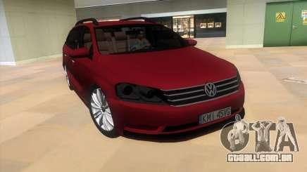 Volkswagen Passat B7 2012 para GTA Vice City