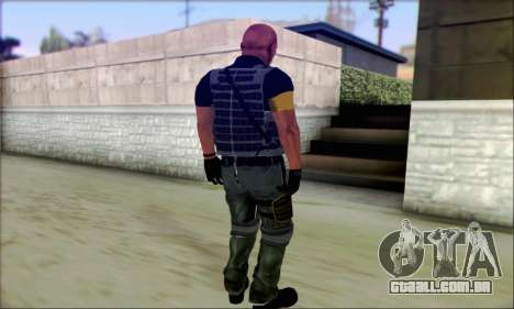 Sam de Far Cry 3 para GTA San Andreas segunda tela