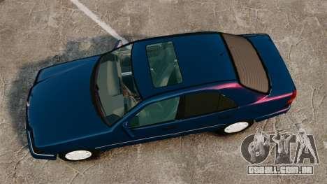 Mercedes-Benz C220 W202 v2.0 para GTA 4 vista direita
