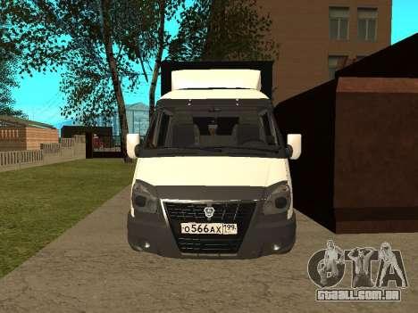 33023 gazela negócios para GTA San Andreas esquerda vista