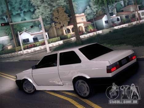 Volkswagen Voyage GL 94 2.0 para GTA San Andreas esquerda vista
