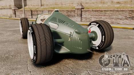 Auto Union Type C 1936 para GTA 4 traseira esquerda vista