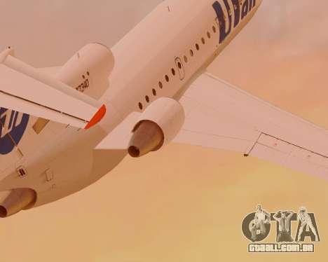 Iaque-42D0547 UTair para GTA San Andreas traseira esquerda vista