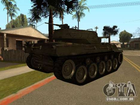 M18-Hellcat para GTA San Andreas vista direita