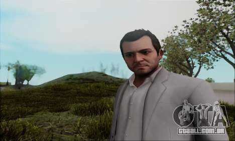 Trevor, Michael, Franklin para GTA San Andreas segunda tela